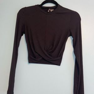 H&M cropped long sleeve